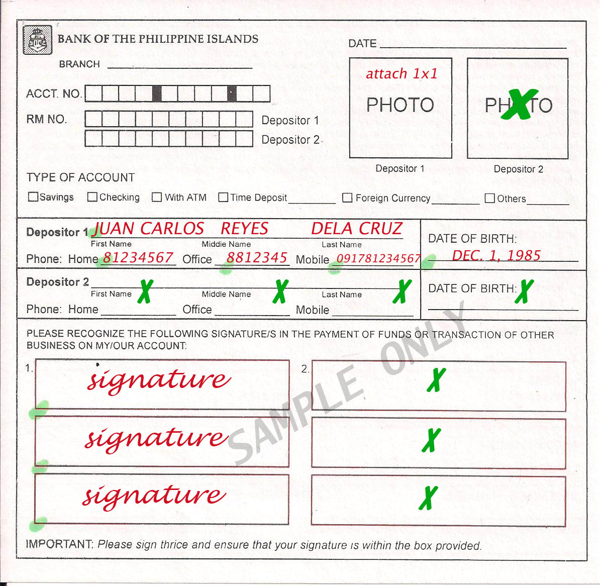 Bpi Payroll Account Forms Pre Employment Requirements
